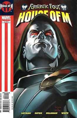 FANTASTIC FOUR HOUSE OF M Issue 2 October 2005 Marvel Comics