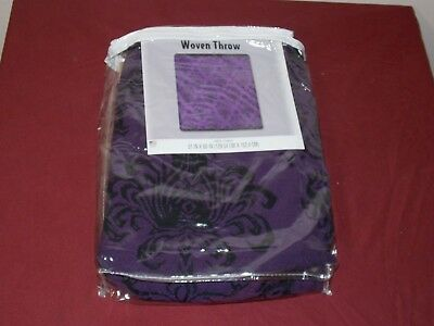 NEW DISNEY HAUNTED Mansion Throw Chenille Accent Blanket Parks Simple Haunted Mansion Throw Blanket