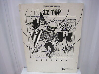 ZZ Top Antenna Sheet Music Song Book Songbook Guitar Tab Tablature
