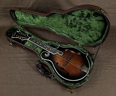 Washburn M118SWK Vintage F-Style Mandolin with Case New! Open Box Special!