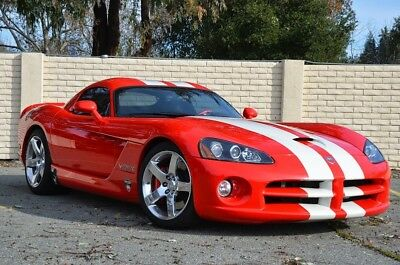 2006 Dodge Viper  2006 Dodge Viper SRT10 Supercharged VCA Edition Coupe Rare 1 of 50 made! 750HP!