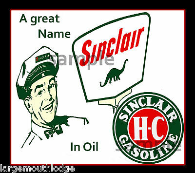 Sinclair Decal Sticker Northwestern Gumball Machine