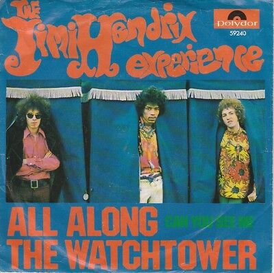 Classic Rock - THE JIMI HENDRIX EXPERIENCE - All Along The Watchtower