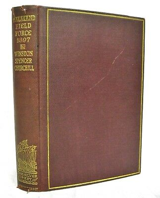Story of The Malakand Field Force by Winston S Churchill 1899 Silver Library