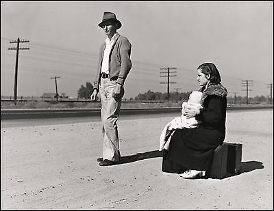 Masters of Photography: Young Homeless Family by Dorothea Lange: Digital Photo