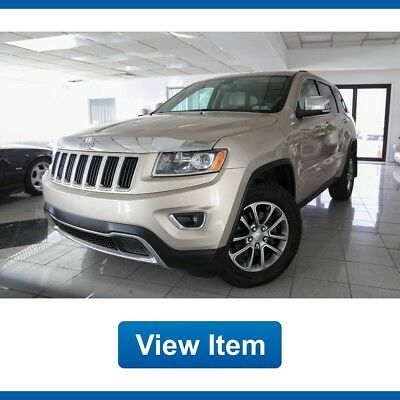 Jeep Grand Cherokee Limited 4WD Loaded Low 63K miles CARFAX 2014 Jeep Grand Cherokee  Limited 4WD Loaded Low 63K miles CARFAX