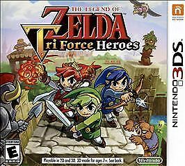 Nintendo 3DS : The Legend of Zelda: TriForce Heroes - 3 VideoGames