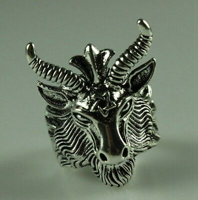 China Old Collection decorations Miao silver Handmade sheep ring