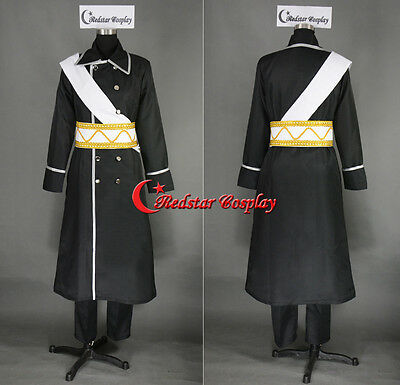 PUY50 Axis Powers Hetalia Cosplay Costume APH Russia Uniform Suit COS