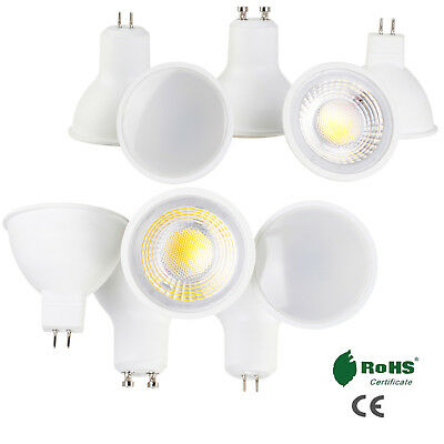 LED COB Spotlights MR16 GU10 GU5.3 5W 6W 7W 9W Spot light Bulb Ultra Bright Lamp