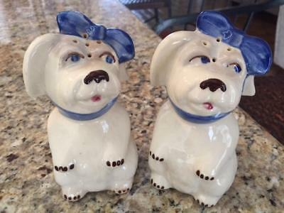Vintage Shawnee Muggsy Begging 5 1/4 in Salt & Pepper Shakers