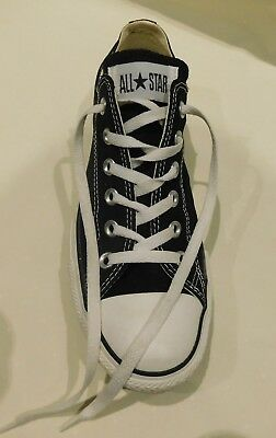 Converse All Star Blue Low Top Unisex - Never Worn Sizes M 7 W 9