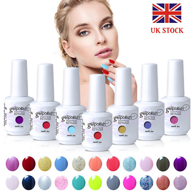 GEL LAB 15ML Soak Off Gel Polish Base Top Coat Manicure Varnish Lacquer UK STOCK