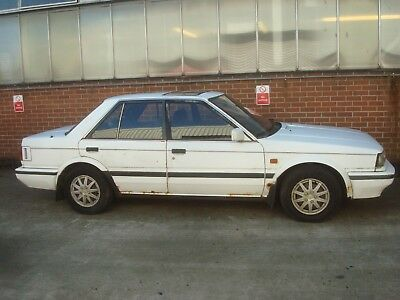 Nissan Bluebird gsx i auto saloon 2.0cc 1986 1 owner from new (export) great reg