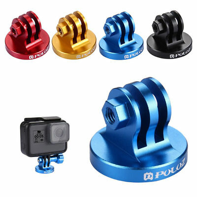 PULUZ  Aluminum Alloy Tripod Mount Base Tripod Colorful Adapter For GoPro #LH