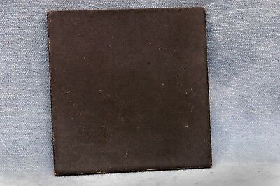 """Undrilled 3-3/4 X 3-3/4 Wooden Lens Board """"b"""" - Free Usa Shipping"""