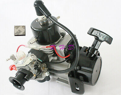 NEW 26CC 2-STROKE RC Petrol Marine Gas Pull Start Engine for Racing Boat 3M  tape