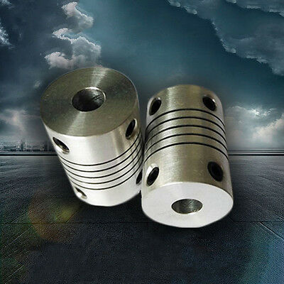 5*8*25mm CNC Motor 3D PrinterJaw Shaft Coupler 5 -5mm Flexible Coupling 5x8mm.DE