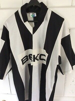 Rare Football Soccer Vintage Original circa 1989 Besiktas Home Shirt Turkey