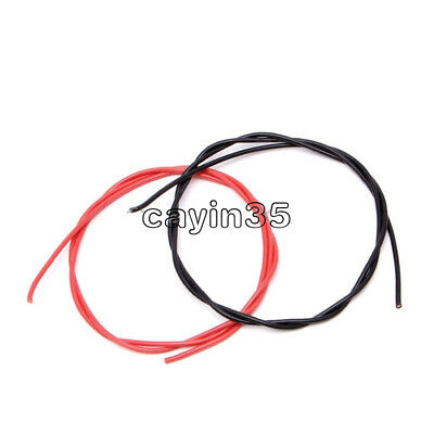 16 AWG Gauge Wire Flexible Silicone Stranded Copper Cables For RC  Red Black UK
