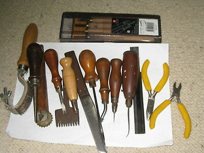 Leather Tools X 18