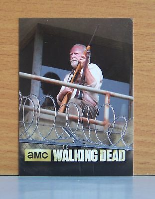 The Walking Dead season 3 part 1 The Prison TP-04 Vantage Point insert card