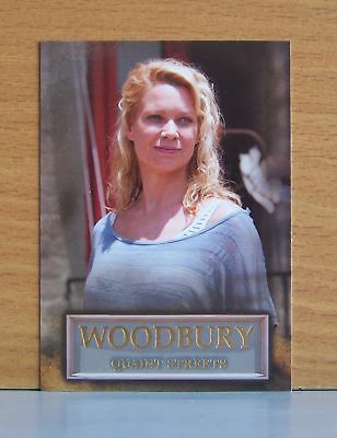 The Walking Dead season 3 part 2 Woodbury WB-02 Quaint Streets insert card