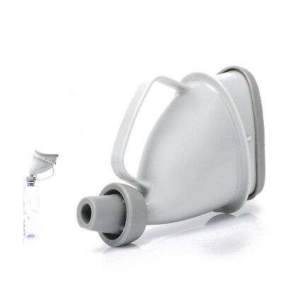 Unisex Portable Car Handle Urine Bottle Urinal Funnel Tube Urination Toilet NEW
