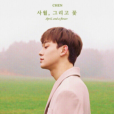EXO CHEN [APRIL, AND FLOWER] 1st Mini Album APRIL Ver CD+POSTER+P.Book+Card+Mark