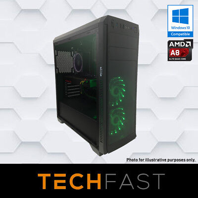 Esports PRO Gaming Desktop - A8 7650K 8GB DDR3 500GB HDD