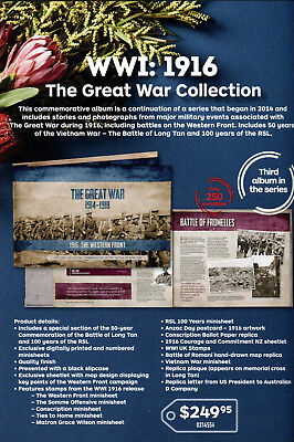 2016 The Great War Collection 1916 The Western Front 110/250 Limited Edition