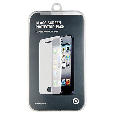 NEW Target Glass Screen Protector For iPhone 5/5S/SE
