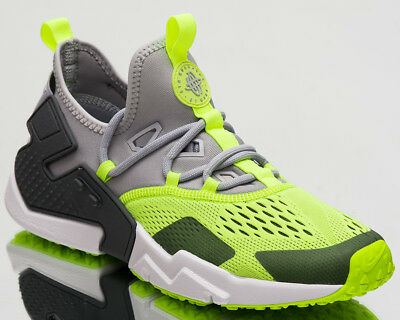 promo code d279b fc444 Nike Air Huarache Drift Breathe Men Wolf Grey Volt White New Shoes AO1133- 001