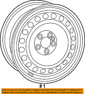 Wheel Chrysler Oem 68263312aa