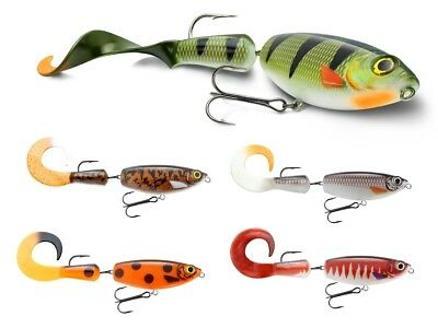 STORM  GIANT TAIL SEEKER SHAD 08  80 GR COL SPOTTED RED HEAD X LUCCIO