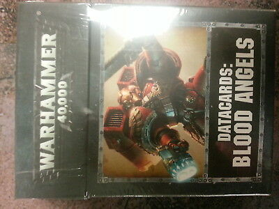 Warhammer 40K Blood Angels Datacards 8Th Edition - New & Sealed