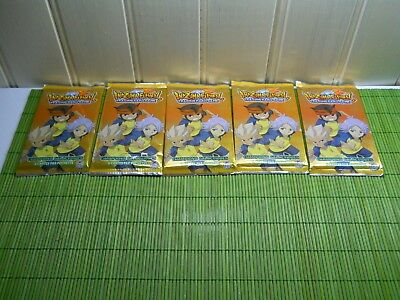 5 BOOSTER PACK TAKARA TOMY INAZUMA ELEVEN   TRADING CARD promotionelle VF