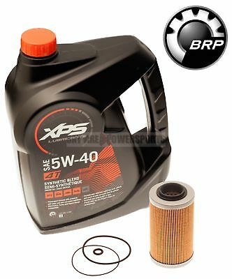 Sea Doo BRP Oil Change Kit W/ Filter & O Rings All 4 Tec 130 155 185 215 255 260