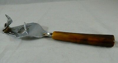 Vintage Can & Bottle Opener Multi-purpose Tool Butterscotch Bakelite Handle Bar