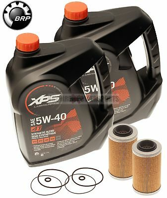 Sea Doo BRP Oil Change Kit W/ Filter & O Rings All 4-Tec GTX GTI RXP RXT 2 Pack
