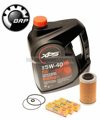 Sea Doo Oil Change Kit W/ Filter O Rings & Spark Plugs 4-Tec GTI GTX RXP RXT GTR