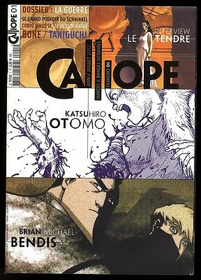 Calliope No. 1 Interview The Tender + Bendis June / Juillet 2002