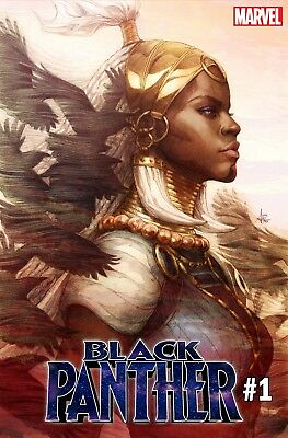 BLACK PANTHER #1 Stanley Artgerm Lau Variant Comic Book Marvel NM 2018