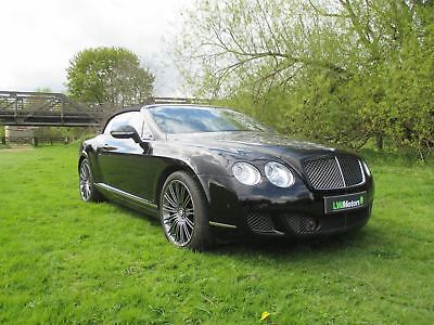 2011 Bentley Continental Gtc Speed A Black