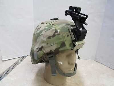 Us Ach Helmet Mich W/ Multicam Cover Nv Mount Sz Xl Specialty Defense W Kevlar