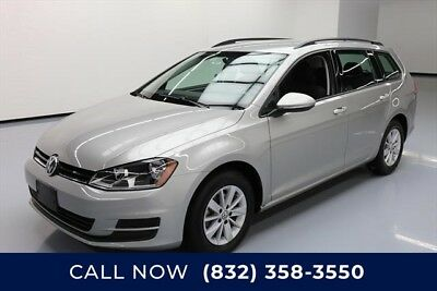 Volkswagen Golf TSI S PZEV 4dr Wagon 6A Texas Direct Auto 2016 TSI S PZEV 4dr Wagon 6A Used Turbo 1.8L I4 16V Automatic
