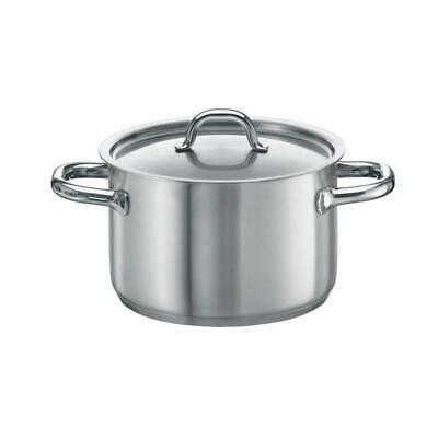 Fissler Family Line Stainless Steel Cooking Pot, Induction, Lid Casserole Ø 20cm