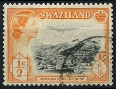 Swaziland 1961 SG#78, 1/2c QEII Definitive Used #D73404