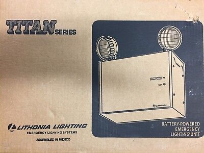 Lithonia Lighting Titan Series Battery-Powered Emergency Lighting Unit