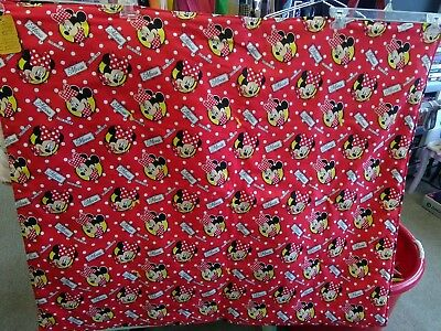 Minnie Mouse baby toddler kids quilt